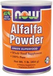 Centuries ago, the Arabs used nutrient-rich alfalfa as feed for their horses, because they claimed that it made the animals swift and strong. They eventually became so convinced of its benefits to their own health that they named the grass Al-Fal-Fa, which means Father of Foods.  Alfalfa Powder is a supplement which can be blended into vegetable juices or used in baking or in vegetarian dishes.  It is 20% protein and 15% fiber; plus it contains 16 amino acids, 13 trace minerals and 13 vitamins.  Alfalfa Powder is a whole food supplement highly valued for its nutrition.Read FAQ's.