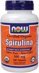 Certified Organic  Nutrient Rich Superfood  100% Pure - Non-GMO  Vegetarian Formula Spirulina contains the highest protein and beta-carotene levels of all green superfoods, and is also a rich source of GLA (Gamma Linolenic Acid), a popular fatty acid with numerous health benefits.  In addition, it is the highest known vegetable source of B-12 and provides optimum levels of vitamins, minerals, trace elements, cell salts, amino acids and enzymes..