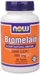 Although Bromelain is derived from pineapples, supplementation is necessary to achieve optimum levels of this enzyme..