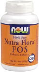 Nutra-Flora FOS is a pleasant-tasting, concentrated source of fructooligosaccharides .