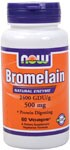NOW Bromelain 2400 GDU is one of the highest natural potencies of this proteolytic (protein-digesting) enzyme available..