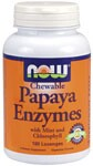 NOW Papaya Enzyme lozenges have a refreshing taste and support digestion when taken after meals..