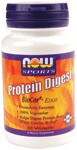 Protein Digest provides complete protein digestion by increasing protein hydrolysis (break down) in the stomach and small intestine..