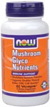 Vegetarian Formula NOW Mushroom GlycoNutrients is a nutritional supplement designed to support optimal immune function..