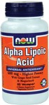 NOW ALA 600 mg uses only the highest grade Alpha Lipoic Acid available, and delivers it in a high potency that has been proven safe in studies..