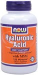 Hyaluronic Acid is a compound present in every tissue of the body, with the highest concentrations occuring in connective tissues such as skin and cartilage.  Hyaluronic Acid is an  important constituent of joint fluid, where it serves as a lubricant and plays a role in resisting compressive forces.*    Related Products  .