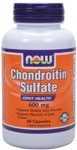 Joint Health  Supports Healthy Joint Function  Supports Elasticity of Joint Tissues* Chondroitin Sulfate is glycosaminoglycan and is a normal component of many body tissues, including articular cartilage.*  Our Chondroitin is high potency and is derived from bovine cartilage.     Product FAQ's   Related Products    Read more about Joint Health from Your Health Professor   AOAC Approved NOW Foods' Glucosamine Method as a First Action Official Method    NOWs Glucosamine, Chondroitin, and MSM Products are Simply the Best    Chondroitin Sulfate.