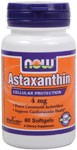 Astaxanthin is a powerful antioxidant, more potent than vitamin C, beta-carotene or vitamin E..