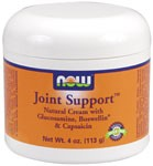 NOW Joint Support Cream is an excellent external companion product to NOW Joint Support capsules..