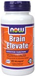 NOW Brain Elevate is scientifically formulated to provide maximum support and nourishment to cerebral functions. Two of its primary components, Huperzine A and RoseOx, are known respectively for their neuroprotective and antioxidant activity..