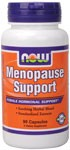 New Menopause Support from NOW is formulated to the exacting specifications of NOW's certified nutritionists. It contains recommended potencies of key ingredients that have been shown to support normal hormonal levels during menopause.* this synergistic blend includes standardized herbal extracts and other nutrients which, together, form a truly well-balanced and effective product for women. Take in conjunction with NOW Eve Women's Multiple for complete nutritional support.  .