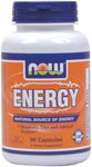 NOW Energy combines a comprehensive array of nutrients and dietary ingredients that provide your body with a natural source of energy. This formula does not contain Ephedra (Ma Huang). Instead, we use ingredients such as Guarana, Yerba Mate and Green Tea to provide a natural source of caffeine and support for the thermogenic processes in the body.*  Niacin - Forms and Safety .