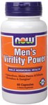 NOW Mens Virility Power is a 100% herbal formula specifically designed to support a mans modern, active lifestyle. This unique formula contains Epimedium, also known as horny goat weed, plus recommended levels of other popular herbal ingredients like Muira Puama, Maca and Tribulus. This synergistic blend supports healthy male hormonal levels and may enhance sexual performance.* Look for Mens Virility Power and other fine NOW herbal supplements in health food stores nationwide..
