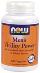NOW Mens Virility Power is a 100% herbal formula specifically designed to support a mans modern, active lifestyle. This unique formula contains Epimedium, also known as horny goat weed, plus recommended levels of other popular herbal ingredients like Muira Puama, Maca and Tribulus. This synergistic blend supports healthy male hormonal levels and may enhance sexual performance..