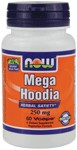 Herbal Satiety*  Vegetarian Formula NOW Mega Hoodia delivers the herbal power of 100% pure Hoodia gordonii, with nothing removed except water..
