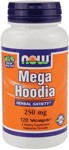 Herbal Satiety*  Vegetarian Formula NOW Mega Hoodia delivers the herbal power of 100% pure Hoodia gordonii, with nothing removed except water. Hoodia was originally consumed as food by indigenous tribes to help endure long, exhausting hunting expeditions. This legally harvested South African Hoodia benefits the environment and the San tribes, and is CITES certified..