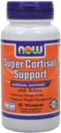 Recommended by Hyla Cass, MD NOW Super Cortisol Support is an herbal and nutritional formula designed to support healthy adrenal function and maintain healthy cortisol levels already within the normal range.  The adrenal glands help the body respond and adjust to stress generated from both internal and external forces. Under chronic stress, cortisol can be overproduced, resulting in weight gain and difficulty in managing healthy blood sugar levels.  Super Cortisol Support combines adaptogenic herbs with Chromium, Corosolic Acid and Relora to help the body manage the negative effects of stress such as excess abdominal fat deposition, overeating, and low energy levels. *    Super Cortisol Support Fact Sheet   Read more aobut Relora from Your Health Professor    Related Products    Relora - A Step Forward in Dietary Stress and Weight Control  .