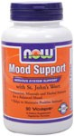 Now Foods Mood Support with St. John's Wort contains vitamins, minerals and herbal extracts that help maintain positive attitude and balanced mood.