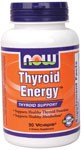 Thyroid Energy formula combines integral constituents of thyroid hormone, Iodine (from Kelp) and Tyrosine with the minerals Selenium, Zinc and Copper..