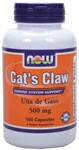 Immune System Support* Cat's Claw is an exciting discovery fromt he Peruvian rainforest.  Also called Una de Gato, Cat's Claw has been used for hundreds of years by the native Ashanica Indians.  It has been the subject of scientific research throughout the world since the 1970's and is considered one of the most exciting health-promoting herbs.    Cat's Claw is a unique South American herb available in several different forms.  We have taken great care to provide only the highest quality pure inner bark of Peruvian Cat's Claw.   Related Products .
