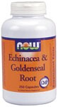 Individually, both Echinacea and Goldenseal are viewed as beneficial in supporting the bodys healthy overall immune function. When combined, a unique synergism occurs that makes this one of the most effective supplements available to promote optimal wellness.*  In addition to this product NOW also provides a variety of high quality herbal products in capsule, liquid, powder and tea bag form.   Echinacea Species and Their Active Ingredients   Related Products.