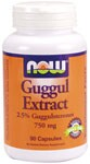 Herbal Supplement  2.5% Guggulsterones Guggul Extract is a purified extract isolated from the crude guggul gum of the small Commiphora mukul tree in India.  The two active components Z-Guggulsterone and E-Guggulsterone are present at an average of 2.5%.  Other components of Guggul Extract include diterpenes, sterols, esters and fatty alcohols.  This ancient medicinal plant is referenced in the classical Ayurvedic medical text Sushruta Samhita for its traditional benefits..