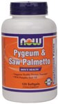 Pygeum & Saw Palmetto Softgels are an optimum supplement for the support of healthy prostate function. .