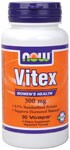 Vitex Extract aka., Chasteberry,  is a traditional herbal remedy derived from the fruit of Vitex agnus castus, a shrub which grows in temperate regions of Asia. Vitex has been researched due to its reputation for supporting female hormonal levels during menopause.  0.5% Standardized Extract with Dong Quai - Vegetarian Formula..