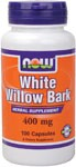 White Willow Bark is a deciduous shrub native to Britain and Southern Europe whose therapeutic use dates back thousands of years. It is mentioned in ancient Greek and European medical journals, and was used by Native North American tribes as a traditional herb. Contains naturally occurring Salicin..