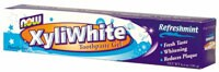 XyliWhite is a remarkable new toothpaste gel from NOW Foods that uses Xylitol, a natural sugar alcohol that looks and tastes similar to conventional sugar with one major exception - it has 40% fewer calories! Unlike many of the chemicals found in other fluoride based, whitening toothpastes, xylitol is a natural, well-tolerated substance commonly found in fruits, berries and other natural sources. In fact, the human body even manufactures its own supply - up to 15 grams, everyday. Xyliwhite is an all-natural refreshmint toothpaste made from select materials and guaranteed to be of superior quality.* Xyliwhite toothpaste is completely safe for users of every age. Our decision to introduce new Xyliwhite toothpaste was not made overnight. Rather, it was the result of intense worldwide research and official endorsements from 6 international dental associations.  Though it was discovered in the 1800s, xylitol research has surged over the last 50 years. Some of the most notable studies (including those conducted at Finlands Turku University) have tested xylitols ability to fight cavities, plaque, gingivitis, dry mouth and bad breath. Others have tested its ability to help neutralize plaque acids, assist in the re-mineralization of tooth enamel and attack the bacteria that can cause tooth decay. At the end of the day, this research ultimately suggests that xylitol may help promote a smile that is whiter, brighter and far more healthy. Xliwhite Toothpaste Fact Sheet The Xylitol Revolution: Sweet Versatality  .