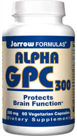 Derived from lecithin, Alpha GPC is extremely well absorbed and crosses the blood brain barrier..