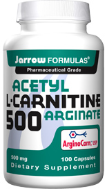 Acetyl-L-Carnitine is a more bioavailable form of L-carnitine, an amino acid found in high concentrations in human brain, nerve, heart, liver and sperm cells. .