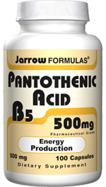 Pantothenic Acid is also involved in intracellular protein metabolism and supports the wound healing process.* Alcohol reduces pantothenic acid in tissues and impairs its metabolism.