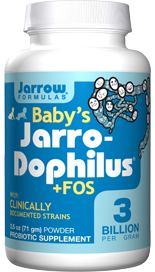 Infant Probiotic Powder - Contains Clinically Documented Strains - 3 Billion Probiotic Organisms Per  tsp - 4 bifido + 2 lactobacilli strains - Includes Prebiotic FOS - Natural fiber that help probiotics thrive - No Sweeteners, Colorants or Preservatives -.