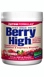 Protects Vision, Circulation & Capillary Strength. Use Berry High to increase your intake of fruit and berry antioxidant flavonoids..