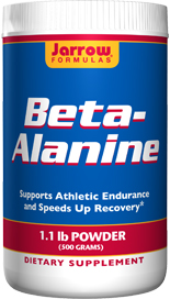 Supports Athletic Endurance and Speeds Up Recovery. For optimal results, takeBeta-Alanine along with Jarrow Formulas Creatine and Carnitine products..