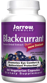 New Zealand Blackcurrant is free of pesticides and grows in an unpolluted area with intense sunlight, which makes it naturally high in phenolic antioxidants..