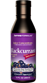 Promotes Eye Comfort & Antioxidant Protection.  New Zealand Blackcurrant is free of pesticides and grows in an unpolluted area with intense sunlight, which makes it naturally high in phenolic antioxidants..