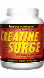 CREATINE SURGE incorporates specific anticatabolic nutrients that aid protein and glycogen synthesis.