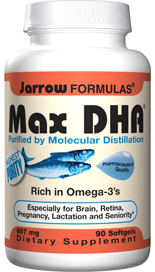 Molecularly Distilled DHA Softgels -  Essential Dietary Nutrient - Studies support importance for young & old - 7:1 DHA to EPA Ratio - Purified: No Heavy Metals & Toxins - Conforms to CRN & proposed USP monographs.