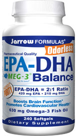 EPA-DHA Balance contains pharmaceutical grade, ultra- purified and highly concentrated omega-3 fatty acids from fish oil..