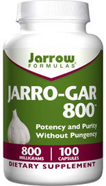 Jarro-Gar 800 contains special sulphur compounds, including alliin and allicin, that are found naturally occurring in garlic..