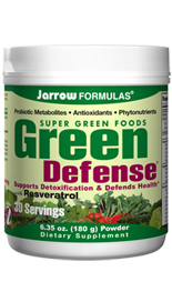 Green Defense is rich in phytonutrients that help support the bodys self-defense mechanisms, detoxify and nourish the body, and assist in the achievement of total well being..