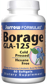 Borage Oil is the highest-potency source of GLA available..