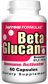 This patented Beta Glucan preparation has demonstrated immunogenic activity in clinical trials..