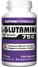 Glutamine is also a major source of fuel for enterocytes (intestinal cells) and hence supports the integrity of the intestinal lining..