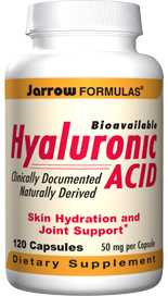 Hyaluronic Acid is a low-molecular weight preparation derived from biological fermentation. It is clinically documented to be bioavailable and to improve hydration of the skin..
