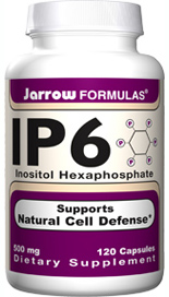 IP6 supports immunity and cardiovascular health by enhancing Natural Killer (NK) cells and chelating reactive iron to protect against corrosive hydroxyl free radicals..