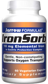Iron is an essential trace mineral required as a component of hemoglobin and myoglobin for transport of oxygen to tissues.*  Supplemental iron is essential during pregnancy and for many teenage males and females..