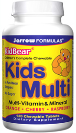 KIDS Multi an optimum potency multi, uses low calorie Lo Han Fruit Concentrate (no sugar) and contains the carotenoid Lutein, which is an important antioxidant for the eyes..